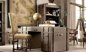 retro home office. Vintage Office Chairs Sydney Furniture Wood For Home Desk Made Of Suitcases Retro Chair