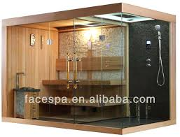 showers sauna steam shower a room combo perfect