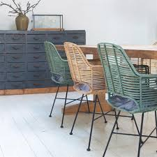 scandi style furniture. Kitchen And Dining: Extraordinary Rattan Dining Chair In Black Desk Chairs Graham Green From Scandi Style Furniture Y