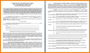 Home Remodeling Contract 24 Home Remodeling Contracts Parkattendant 10