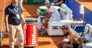 Papelón de Paire en el Argentina Open: escupió, insultó y actuación  escandalosa - Diario Hoy En la noticia