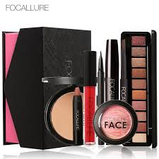 focallure 8pcs daily use cosmetics makeup sets make up cosmetics gift set tool kit makeup gift in makeup sets from beauty health on aliexpress