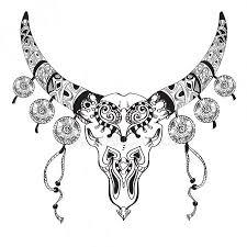 Tetování Horoskop Býk Stock Vektory Royalty Free Tetování Horoskop