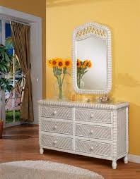 wicker bedroom furniture. Santa Cruz Mirror Wicker Bedroom Furniture