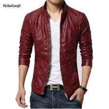 2019 whole new 2017 male water wash pu leather jacket on decorative slim fit er jacket men chaquetas plus size m 6xl py19 from xaviere