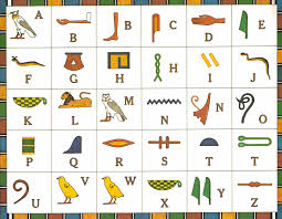 Hieroglyphics Chart Welcome To Egypt Hieroglyphics Classic Play