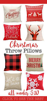 Cheap Decorative Pillows Under 10 Impressive Stunning Christmas Throw Pillows You Can Buy For A Bargain