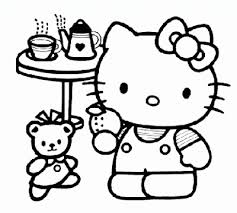 See related links to what you are looking for. Hello Kitty Tea Party Coloring Pages 400x359 Gif 400 359 Hello Kitty Colouring Pages Hello Kitty Coloring Kitty Coloring