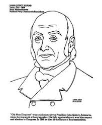 Small Picture American Presidents John Adams Coloring Pages and Colouring