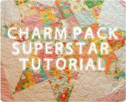 Charm Pack Superstar Quilt | 627handworks & This Superstar Quilt is easy and sews up fast. Would be great for a quick  baby shower gift. Or put 4 or more together for a bigger quilt. Adamdwight.com