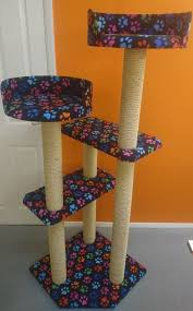 wall mounted cat tree thor scandicat. Luxury Cat Beds Furniture. Large Tree Furniture With 2 I Wall Mounted Thor Scandicat