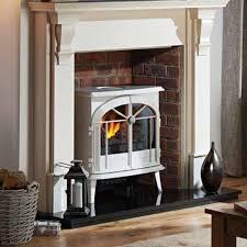 dimplex meribel creamy white electric opti myst stove