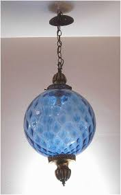 glass pendant light with chain lovely vintage hanging light fixture swag lamp chain cord mid