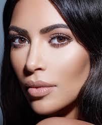 kim kardashian west kkw beauty powder contour highlight shoot shot by