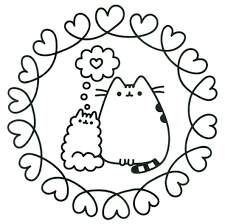 Oh Kitty Coloring Pages
