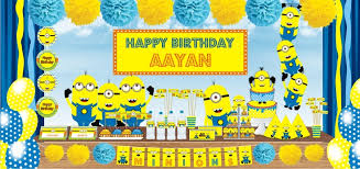 minions inspired minions inspired personalisedtablewaredecorationsparty