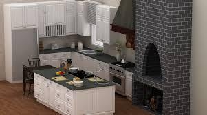 Modern Kitchen Cabinets Online Wonderful Modern Kitchen With Dark Counter Top Organizer White