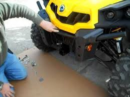 can am commander winch mount install video can am commander winch mount install video