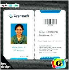 Vector Galleries New Id Identity Free In Employee Red Design Template Company Templa Templates Card