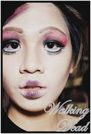 scary doll makeup tutorial amazing from nails to makeup a never ending obsession of scary