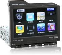 power acoustik ptid nr touchscreen dvd player w usb aux power acoustik ptid 8300nr user friendly display