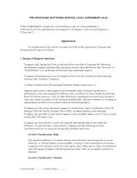 help desk service level agreement template example service agreement