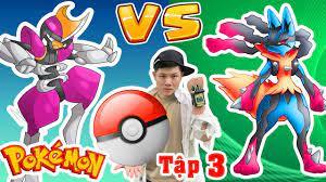 POKEMON [Tập 3] - Quả Bóng Thu Phục Pokemon - Pokemon Mega Lucario Vs  Pokemon Bisharp - Kiên Hư Hỏng - YouTube