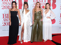 and let s just talk about jesy s green jumpsuit plete with flared trousers and pez s frilly leotard number total queens