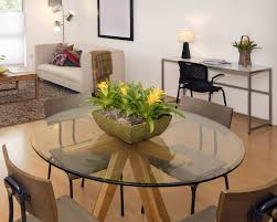 42 inch round table attractive glass top 1 2 thick beveled tempered with regard to 6