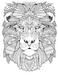 Images Of Free Animal Detailed Coloring Pages To Print For Teenagers