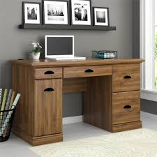 Computer Desk Home Better Homes And Gardens Computer Desk Brown Oak Walmartcom
