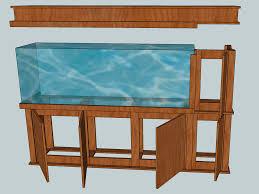 Aquarium furniture design Wooden Image Sc St Cichlidforumcom Ezen Aquarium With Stand And Canopy 55 Gallon Aquarium Stand And Canopy