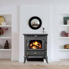 sentinel foxhunter cast iron log burner 7kw wood burning coal stove fireplace ja010