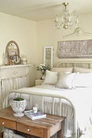 French Shabby Cottage Style Bedroom In White And Off Whites Fixer