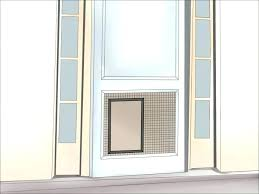 installing dog door in metal door breathtaking doors for french design photograph doggy door factory installation