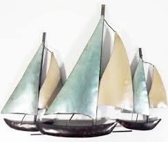 metal sailboat wall decor metal art sailboats wall sculpture in fashionable metal sailboat wall art