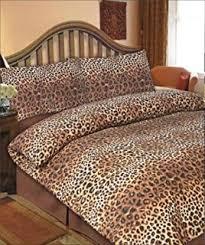 Dreamscene Leopard Duvet Cover Set, Chocolate, King: Amazon.co.uk ... & Viceroybedding Animal Print, Leopard Print, Double Duvet Cover Set Adamdwight.com