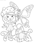 Раскраска шарлотта для девочек