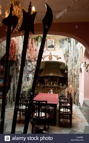 The dining room of Hang Nga Guesthouse or \u0027Crazy House\u0027 in Dalat ...