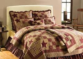 Victorian Style Comforter Sets Victorian Style Quilts Country And ... & Victorian Style Comforter Sets Victorian Style Quilts Country And Primitive Bedding  Quilts Star Patch Bedding By Adamdwight.com