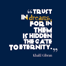 Khalil Gibran Quote About Trust