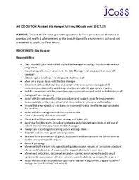 Duties Of Administrative Assistant Fascinating JOB DESCRIPTION CASTING AND PRODUCTION ASSISTANT