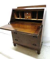 drop front desk antique art tiger oak drop front desk secretary bureau intended for drop front drop front desk