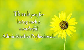 Administative Day Administrative Professionals Day Free Thank You Ecards 123 Greetings