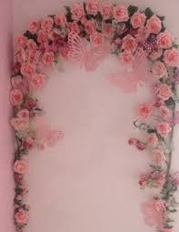 Shabby Chic Bedroom Mirror Little Girls Bedroom Rose Butterfly Arch Shabby Chic Whimsical