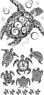Tribal Turtle Tattoo Designs Are Common