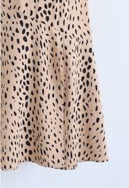 Get It Started Leopard Midi Skirt In Tan