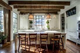 country kitchens with islands. Country Kitchen Island With Rush Seat Counter Stools Kitchens Islands