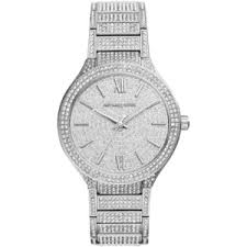 michael kors watches polyvore michael kors women s kerry pave stainless steel bracelet watch 38mm mk3359
