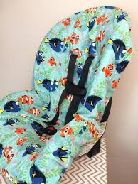 car seat slip cover toddler cover made with dory fabric infant car seat slip covers
